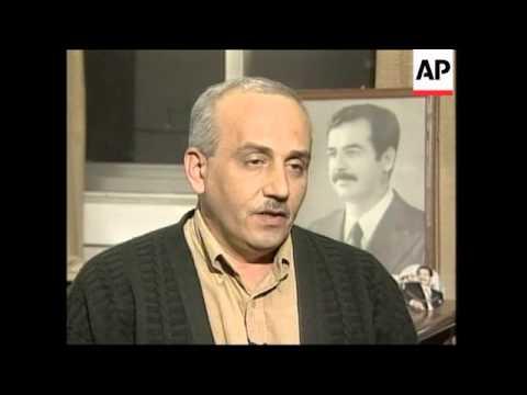 Inspections, Iraqi scientist, MP on chief inspectors' visit, Tikrit celebrations
