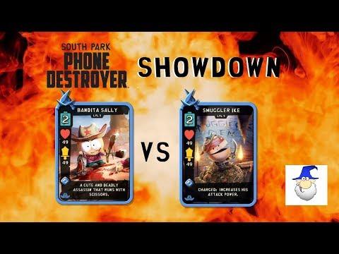 South Park Phone Destroyer - Card Showdown (Smuggler Ike vs Bandita Sally)
