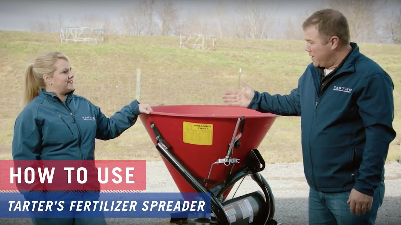 How to use Tarter's Fertilizer Spreader