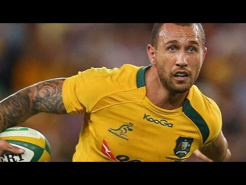 Quade Cooper- Offload King- Best Tries, Steps and Skills