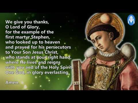 Prayer To St  Stephen