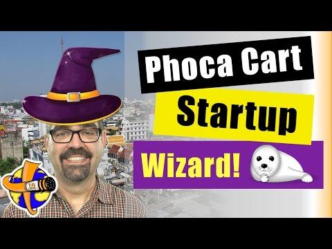 Phoca Cart Setup Wizard - A Joomla Shopping Cart Tutorial