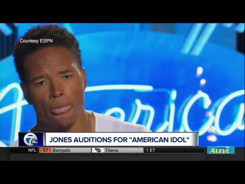 Marvin Jones auditions for American Idol