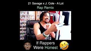 EL-T x 21 Savage x J. Cole - A Lot Rap Remix