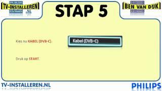 Philips Analoge Zenders Installeren - Zender Installatie - TV Zenders Instellen