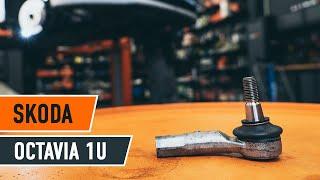 Austauschen von Halter, Stabilisatorlagerung beim SKODA OCTAVIA: Werkstatt-tutorial