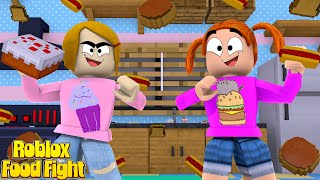 Roblox Escape Food Fight With Molly And Daisy!