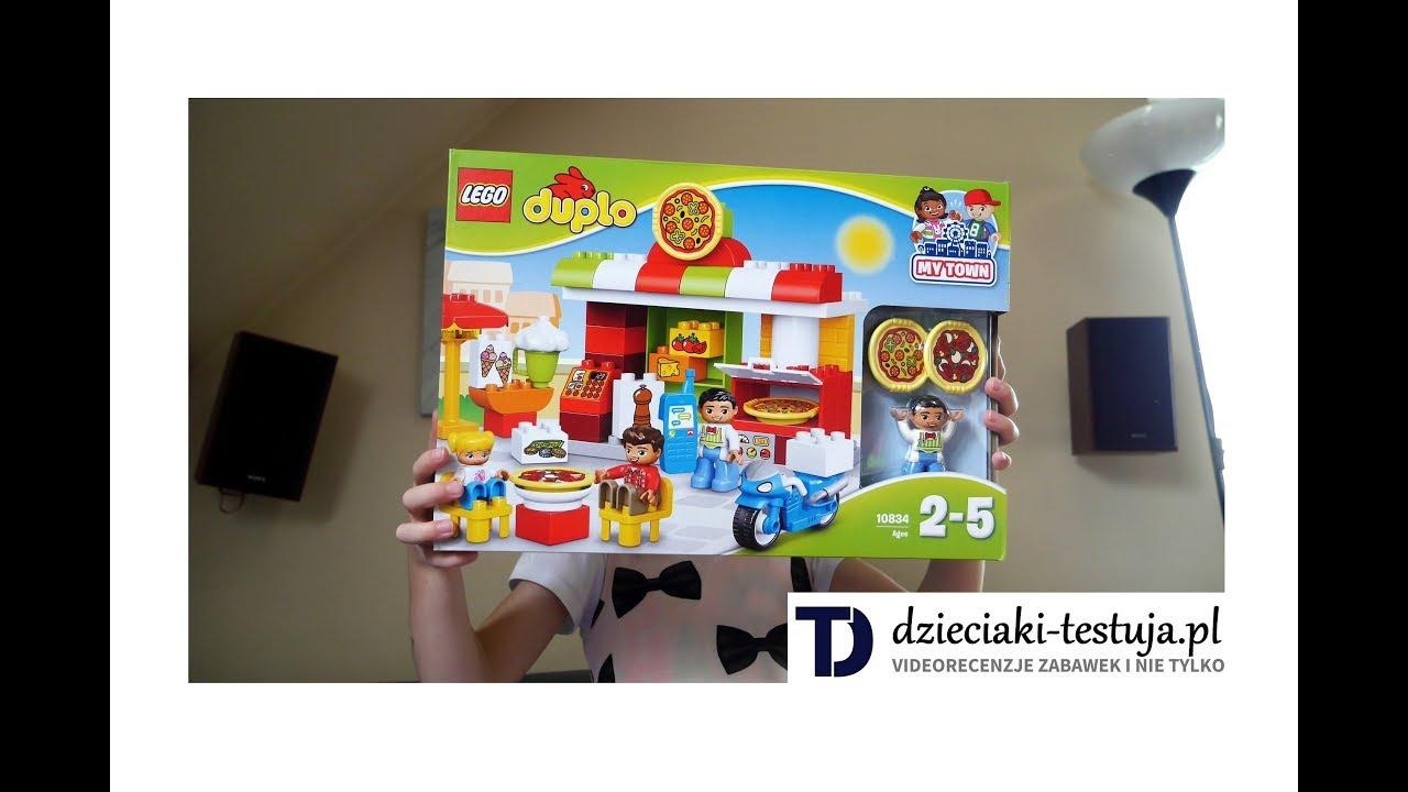 Składamy Klocki Lego Duplo Pizzeria Youtube