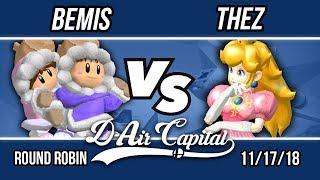 D-Air Capital 11 - Bemis (Ice Climbers) Vs. Thez (Peach) - RR Pools