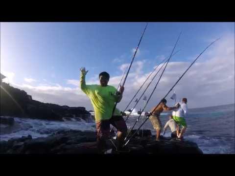 Ulua Fishing Hilo Casting Club 2017 Pt. 1