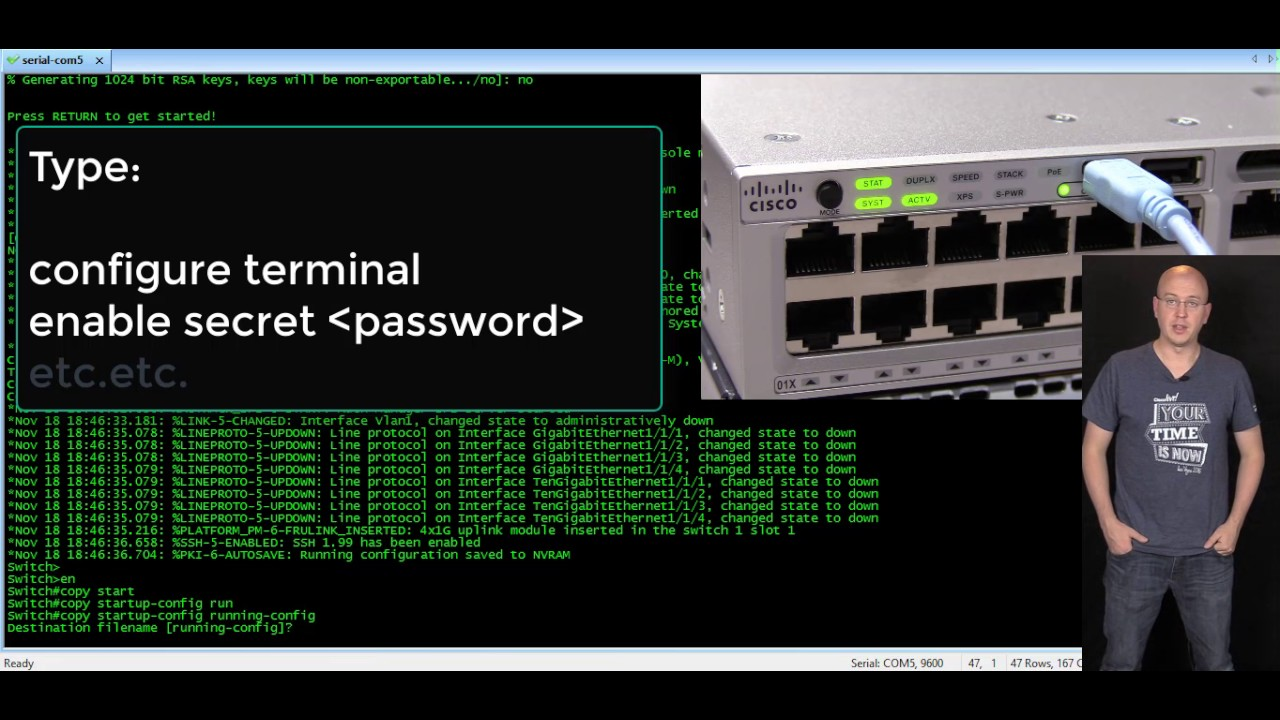 How to recover password on Cisco 3850 Switch (IOS-XE)