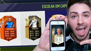 FUT DRAFT DA SIRI DO IPHONE!!! ELA TIROU UM ICON!