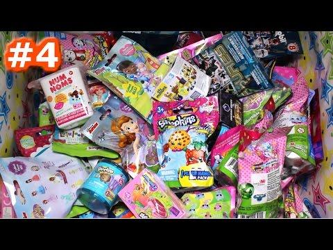 Random Blind Bag Box Episode #4 - Shopkins, Sofia the First, Minion Mega Blocks, Crystal Surprise