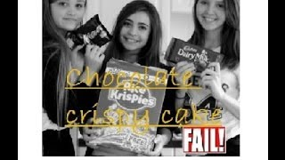 Chocolate + Mars Bar Rice Crispy Cakes Fail | Alannah May Sian