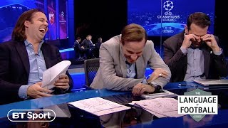 It means what?! Learning the language of European football - BT Sport