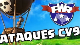 PWR - LIGA AMADORA - CV'S 9 - MeTeOrA II Vs. Febre Amarela - Attack On War Th 9 - CLASH OF CLANS