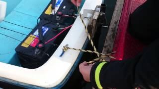 【イチ動124】ボート係留ロープの結び方