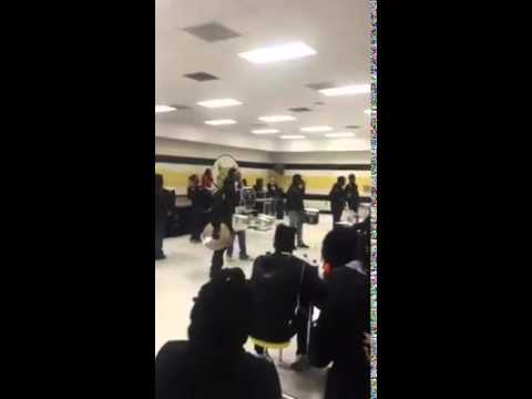 Dillon High School Drumline Talent Show 2015