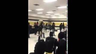 Dillon High School Drumline Talent Show 2015