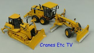 Yagao SEM 822 Tractor and SEM 919 Motor Grader by Cranes Etc TV