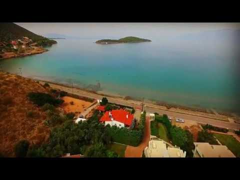 Property of 3 Seafront Villas for Sale Attica Greece