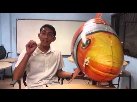 TAMU Aerospace REU 2015 Airships Project Video