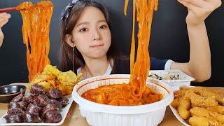 감탄 국물떡볶이 탕수육 떡튀순 먹방 💗  Mukbang