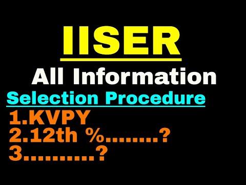 IISER || All Information, Selection Procedure, || JEE में अच्छी RANK नहीं आई तब भी मिलेगा  IISER ?