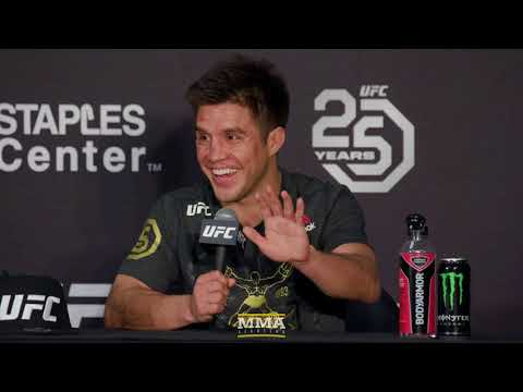 UFC 227: Henry Cejudo Post-Fight Press Conference - MMA Fighting