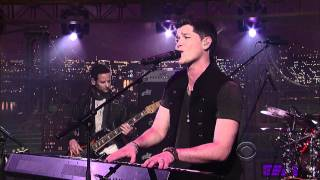 "(HD) The Script - ""For The First Time"" 1/18 Letterman (TheAudioPerv.com)"