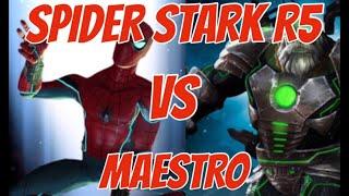Spider stark 5 rank 5 vs maestro lol mcoc / Marvel contest of champions MCOC