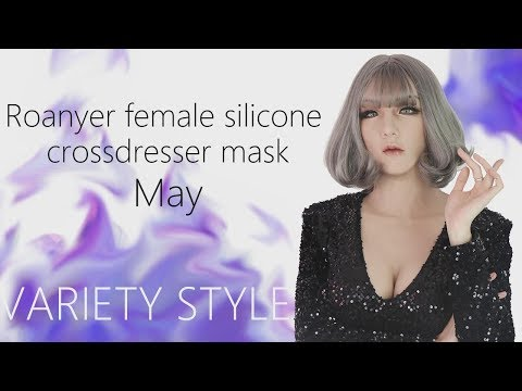 Boy to girl │Female silicone mask with breast by Roanyer for crossdresser.