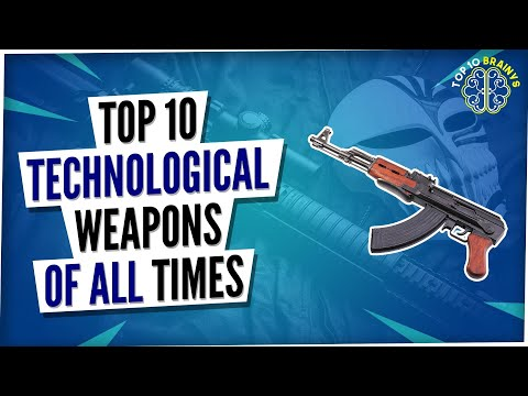 Top 10 Advanced Technological Weapon in the World (2021) l Top 10 Brainys