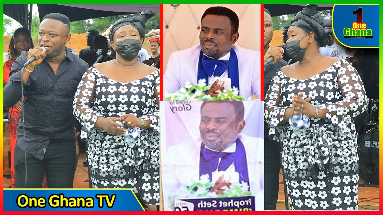Download Mama Esther weeps as she performs with Kwaku Gyasi at Prophet Seth Frimpong's fυnɛral