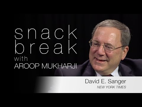 David Sanger - Reporting and Leaks in the Trump Era  |  Snack Break with Aroop Mukharji