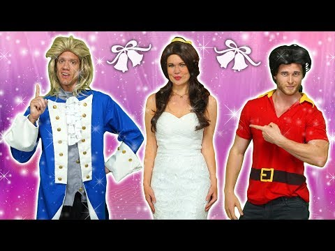 BELLE'S MAGICAL WEDDING TO PRINCE ADAM OR GASTON? Totally TV