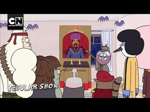 Racki The Wishmaker I Regular Show I Cartoon Network