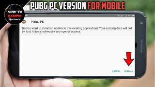 Gambar cover ||PLAY PUBG PC IN ANDROID WITHOUT PC||HOW TO DOWNLOAD AND PLAY PUBG PC IN ANDROID||APK+OBB||