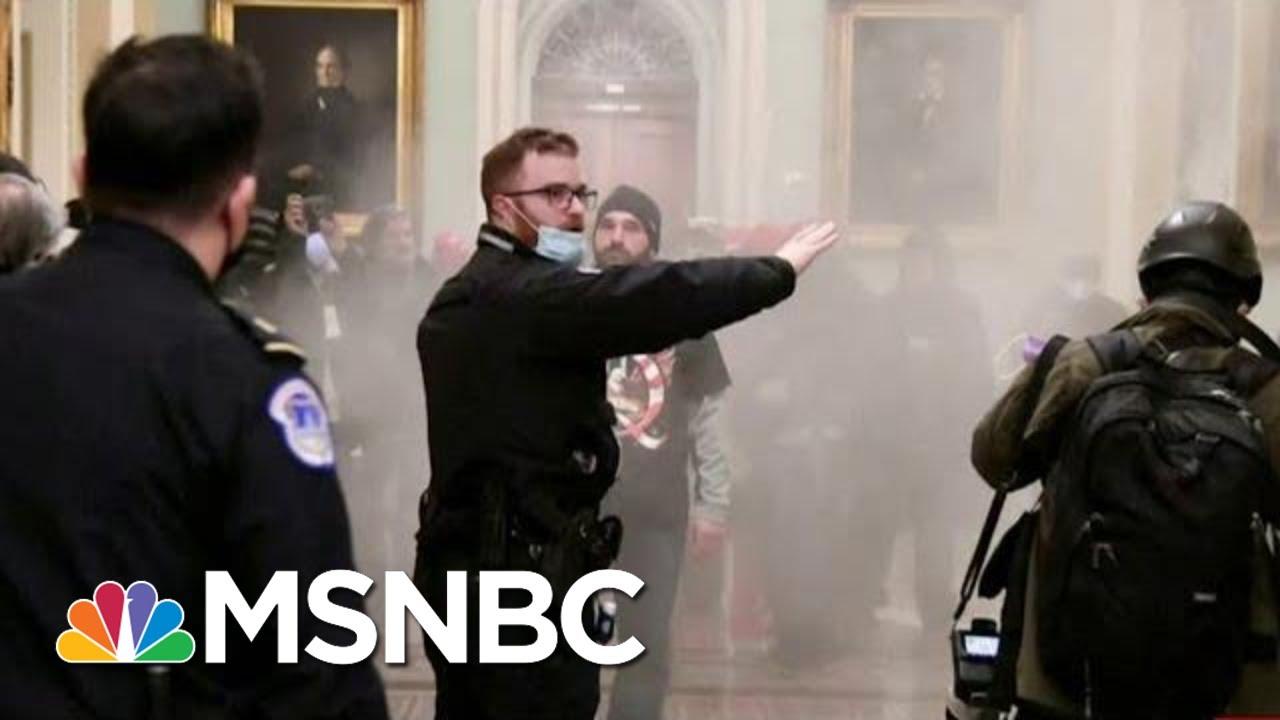 U.S. Capitol Ransacked After Mas