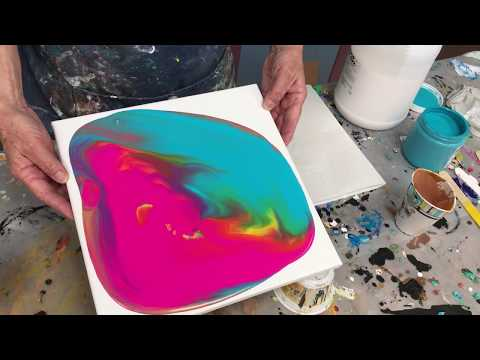 Acrylic Pour Painting: What Is A Dirty Pour?
