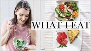 EASY SUMMER MEALS FROM THE GARDEN! | What I Eat Summer 2019 | Natalie Bennett