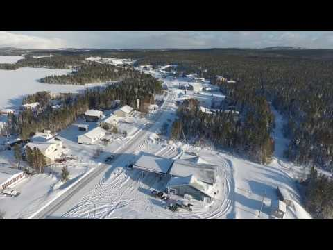 Roddickton, NL Beauty after the storm (December 16, 2016)