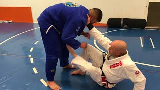 Open Guard: Points of Contact Drill
