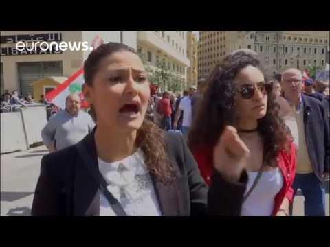 Gewaltsame Proteste gegen Steuererhöhungen in Beirut