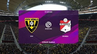 PES 2020 | Venlo vs FC Emmen - Netherlands Eredivisie | 07 December 2019 | Full Gameplay HD