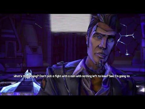 Borderlands 2  Cut: Angel Dies, Roland Killed by Handsome Jack, Lilith Taken HD Gameplay PS3