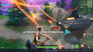 ISISKNIGHT COMES TO SAVE ME IN FORTNITE #teampatxi #teamisis Patxi Games