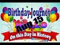 Birthday Journey August 15 New