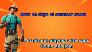 14 DAYS OF SUMMER *LIVE* FORTNITE Battle Royale PSN CODE GIVEAWAY At 1k Subs