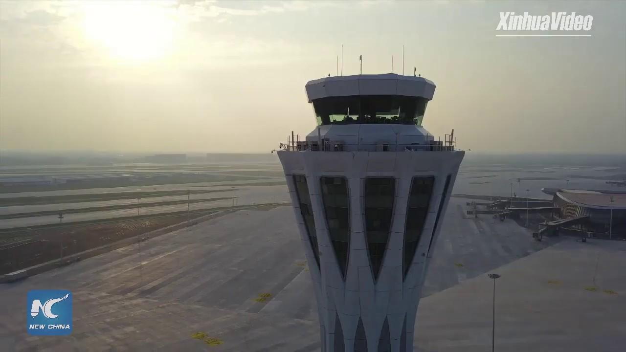 Download LIVE: First flight departs from Beijing Daxing International Airport